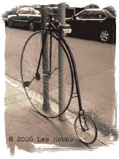 Mire mi bicicleta, es diseño original...