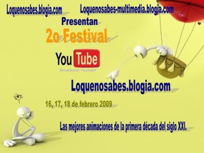 2o Festival Youtube - Loquenosabes.
